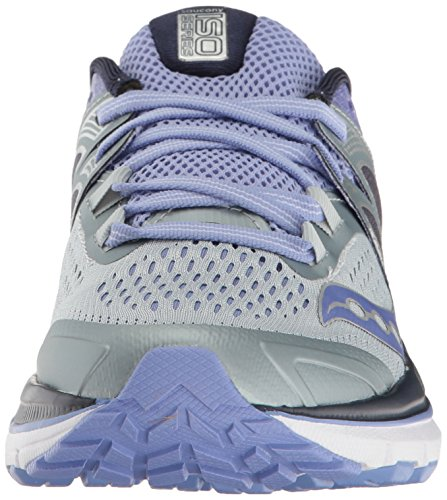 Saucony Triumph ISO 3, Scarpe Running Donna Multicolore (Grey/Purple)