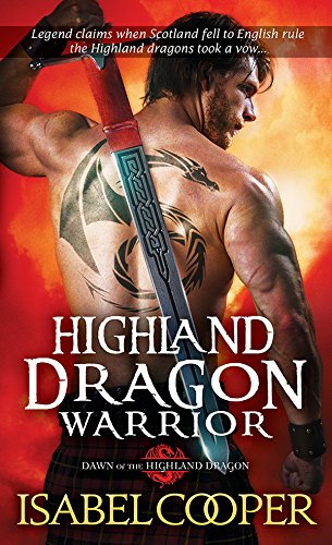 Highland Dragon Warrior (Dawn of the Highland Dragon Book 1) cover