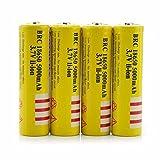 Best 18650 Batteries - 4Pcs 3.7V E-shinre 18650 5000mah Rechargeable Lithium Battery Review
