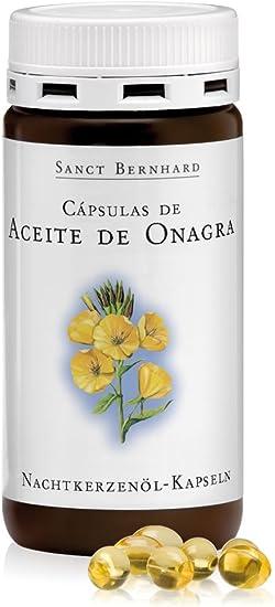 Aceite de Onagra 500mg - 200 Cápsulas: Amazon.es: Salud y cuidado personal