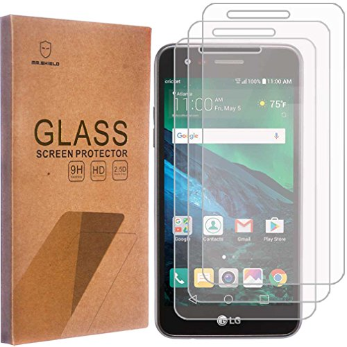 [3-Pack]-Mr.Shield for LG Rebel 3 LTE [Tempered Glass] Screen Protector [Japan Glass with 9H Hardnes - http://coolthings.us