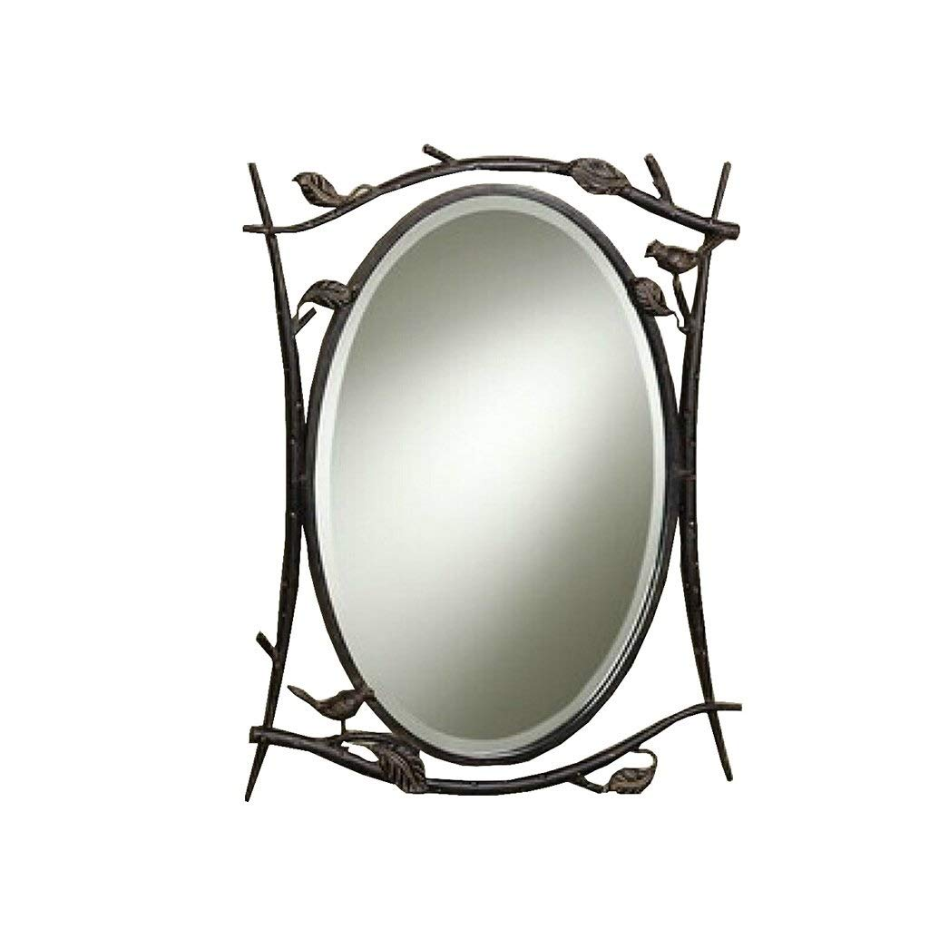 SMC Mirror Wrought Iron Living Room Decorative Mirror ...