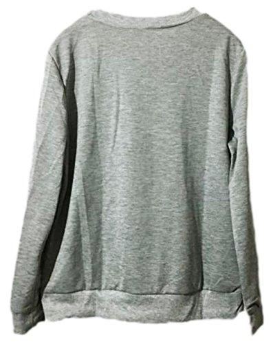 Vian Lundgaard - Jerséi - Opaco - para mujer gris X-Large