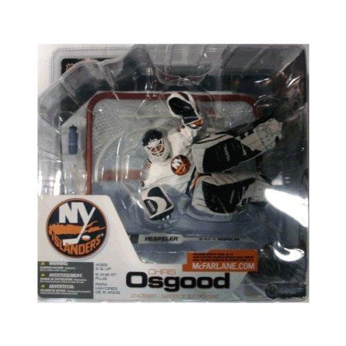 Mcfarlane Nhl Sports Picks - McFarlane NHL Sports Picks Series 3 Action Figure Chris Osgood (New York Islanders) White Jersey