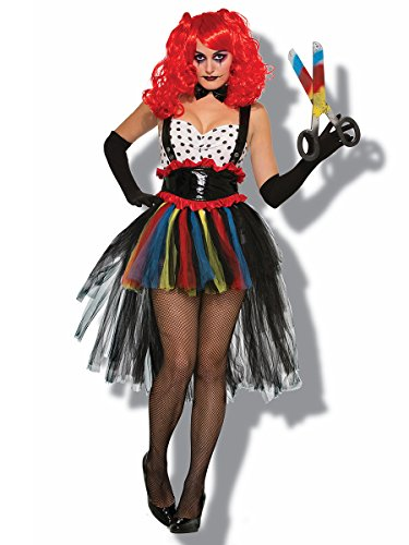 Costumes Womens Evil Clown (Adult Evil Girlie Clown)