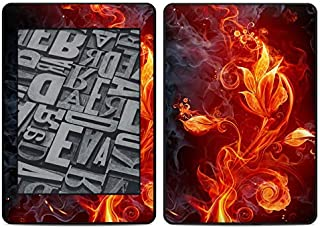 product image for Flower of Fire Amazon Kindle Paperwhite 2018 Full Vinyl Decal - No Goo Wrap, Easy to Apply Durable Pro
