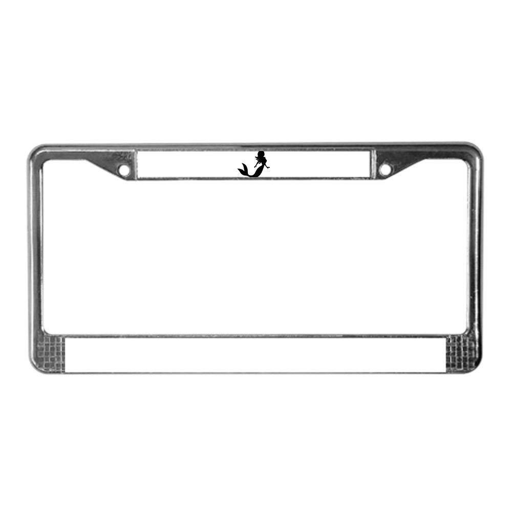 License Tag Holder,Auto Frame Cover Grill Jesspad Star Trek Enterprise Chrome License Plate Frame