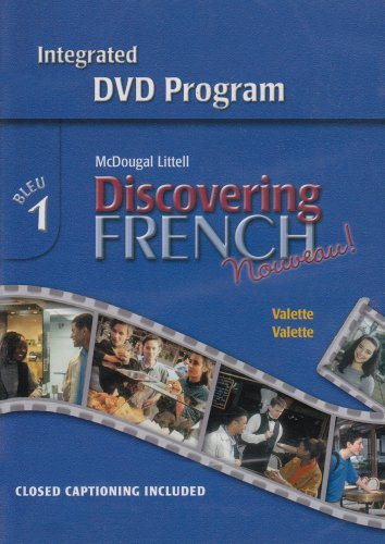 Read Online Discovering French, Nouveau!: Integrated DVD Program Level 1 ebook