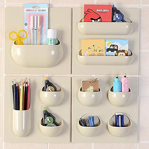 Loghot Strong Self-adhesive Hanging Shelves Wall Floating...