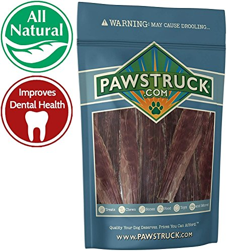 - Joint Health Beef Jerky Dog Treat Chews - Gourmet, Fresh & Savory Beef Gullet Jerky - Naturally Rich in Glucosamine and Chondroitin - Promotes Healthy Joints and Tissue Growth (5.5