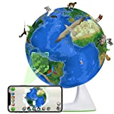 NeoBear Smart Interactive Globe Augmented Reality AR Educational Globe for Kids World Geography Learning Toy, Practicable Gift for Children