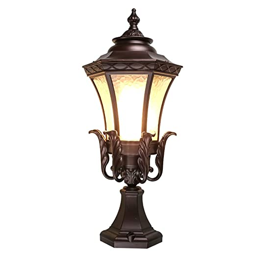 detailed look 954a6 a61cd Hines Europe Wall Column Lights Outdoor Garden Pillar Lamp ...