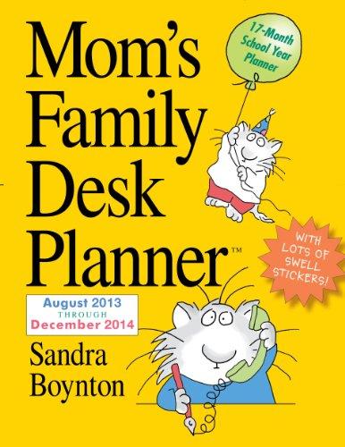Mom's Family 2014 Desk Planner