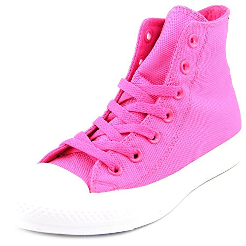 Converse Womens CT Hi Unisex Hight Top Lace Up Fashion Sneakers Pink Glo