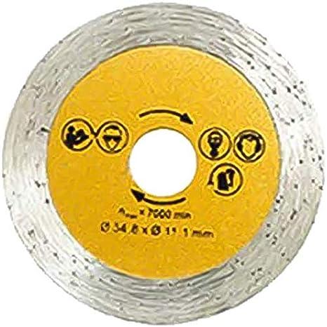 Mini scie circulaire avec 3 lames de scie 400W Scie circulaire multifonction professionnelle haute puissance pour coulis en c/éramique Ma/çonnerie Marbre Stone A sans bo/îte