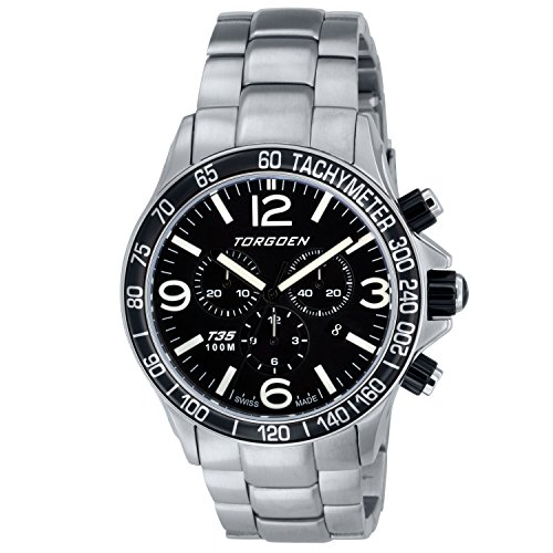 Torgoen Swiss Men's T35201 Pilot Watch