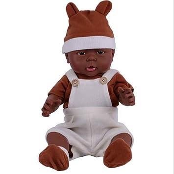 d3402e14919cf KESOTO Poupée Bébé Nouveau-né en Silicone Souple 16 Pouces Réaliste Reborn  avec Vêtements