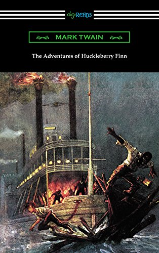 The Adventures of Huckleberry Finn (with an Introduction by Brander Matthews) (Satire In The Adventures Of Huckleberry Finn)