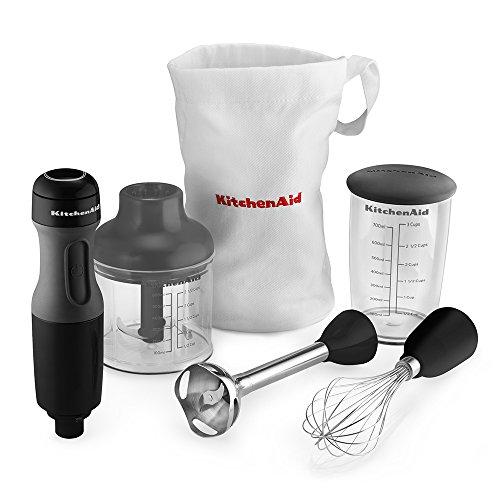KitchenAid 3-Speed Immersion Blender, Onyx Black