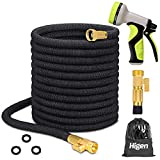 Best Flexible Garden Hoses - Higen 100ft Upgraded Expandable Garden Hose Set, Extra Review