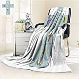 Baptism Decorations Blanket By Nalohomeqq Baptismal Cross Bible Faith Believing Greeting Welcoming Baptize Basin Christ Art Accessories Long