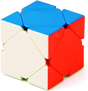 CuberSpeed Skewb Stickerless Magic Cube Skewb Stickerless Speed Cube Puzzle Toys for Kids