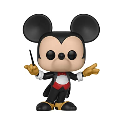 Funko Pop Disney: Mickey's 90Th - Conductor Mickey Collectible Figure, Multicolor: Toys & Games
