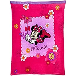Disney Minnie Mouse Toddler/Baby Blanket