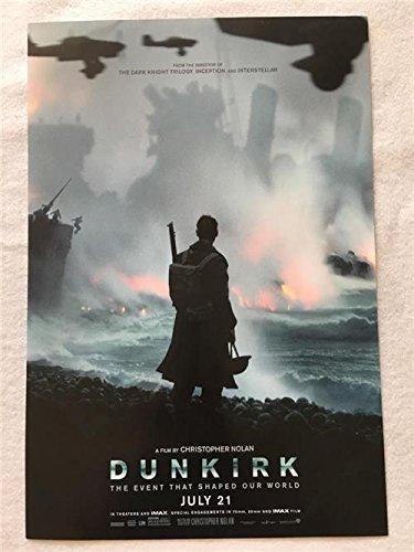 Dunkirk Original Promo Movie Poster 2017 Christopher Nolan