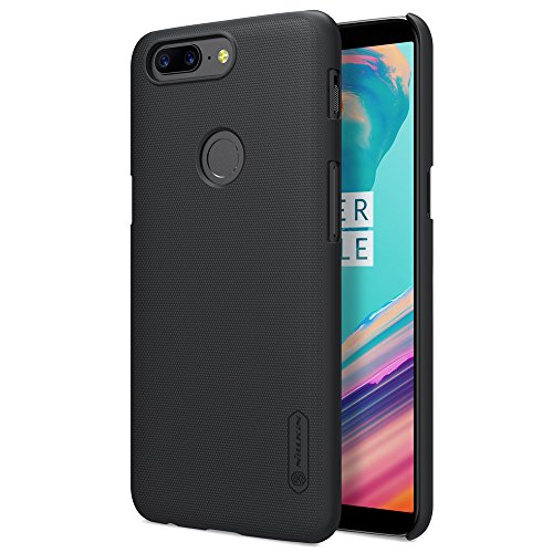 Nillkin Polycarbonate Super Frosted Shield Hard Back Cover Case for Oneplus 5T  BLACK