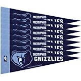 Rico NBA Grizzlies 8 Pc Mini Pennant Pack Sports Fan Home Decor, Multicolor, One Size