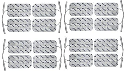 electrodos conexión de clavija mm xcm  Almohadillas para electroestimuladores TENS EMS