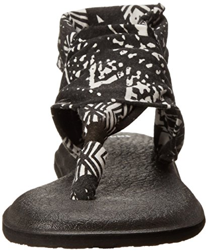 Flop Sanuk Tribal 2 Flip Sling Women's Yoga Black wR7ROqXzn