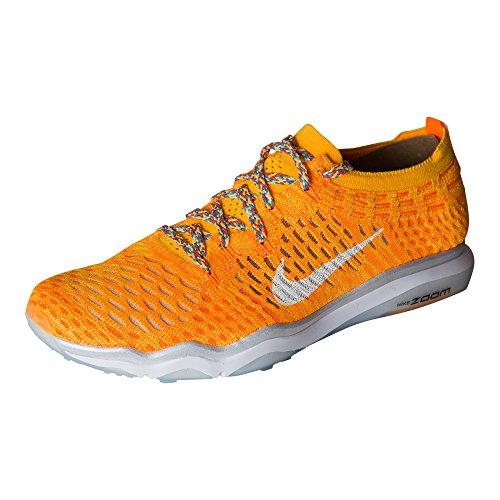 buy online 3dcef d31d5 ... reduced nike womens air zoom uredd flyknit joggesko laser oransje hvit  34774 3d7f8