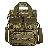 Best JD Camping Tents - Jeufficomy Tactical Handbag 12 Inches Laptop Military Crossbody Review