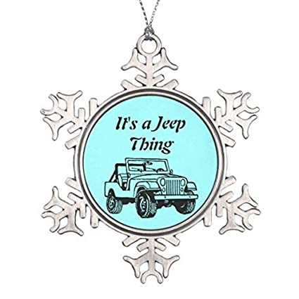 Jeep Christmas Ornament.Amazon Com Blake55albert Christmas It S A Jeep Thing