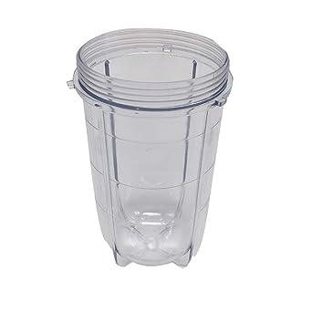 ULTECHNOVO Reemplazo de vasos altos tarro de plástico para ...