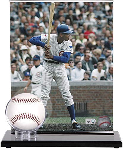 - Mounted Memories Acrylic Single Baseball Display Case with Photo Holder
