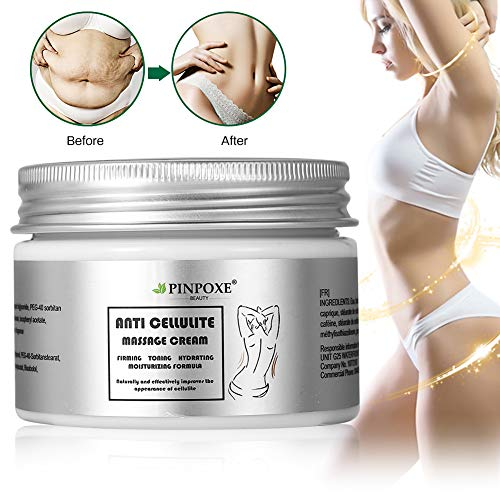Anti Cellulite Cream, Cellulite Remover, Hot Cream, Anti Cellulite Treatment, Body Firming and Tightening Cream, Belly Fat Burner for Women and Men