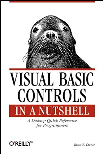 amazon visual basic controls in a nutshell the controls of the