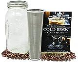 COLD BREW COFFEE MAKER |2 Quart| Texas Jack's 130 Pg Cold Brew...