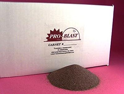 GARNET #100/120 - Fine Abrasive - 25 lbs - Sand Blast Cabinet BLASTING MEDIA - by Tacoma Company