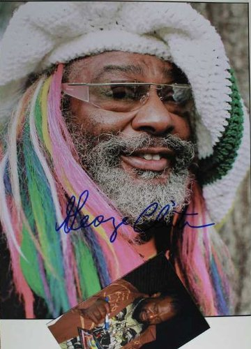 George Clinton Autographed Glossy 11x14 Photo w/ Proof ()