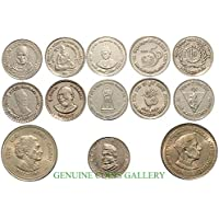 Collectible 5 Ru 13 Different Commemo. Copper-Nickel