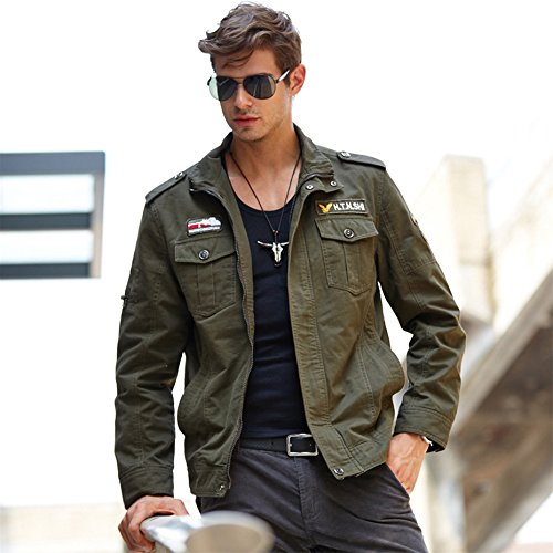Amazon.com: NEW Tactical Military Jacket Men Mens Denim Army Bomber Jacket Windbreaker Waterproof Autumn Militar Style Coat Male.DA41: Clothing