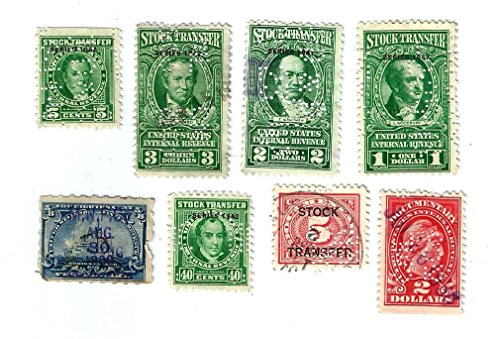 Find Collectible - 8 VERY OLD US REVENUES STAMPS.PLUS 10 ''FREE'' STAMPS..HARD TO FIND,...COLLECTIBLE...ALL DIFFERENT