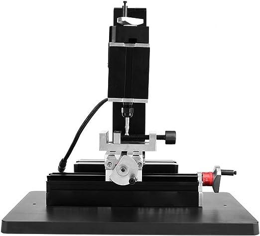 Mini fresadora de Metal de precisión, 60W 12000RPM Mini máquina de ...