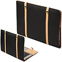 GMYLE Vintage One-piece Design Anti-scratch Folio Case Sleeve Pouch for MacBook Air 13 inch (Model: A1369 & A1466)