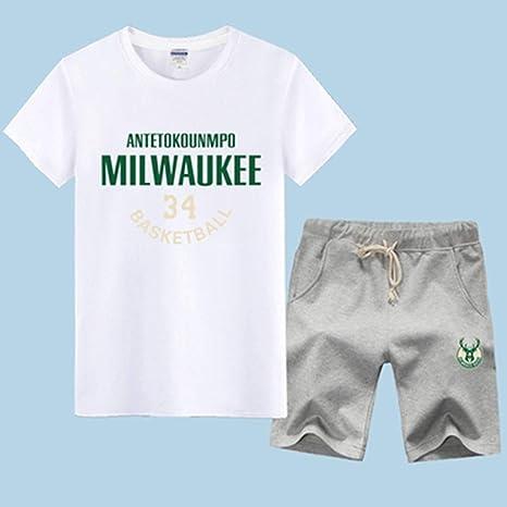 FAN MOVEMENT Camiseta Traje NBA Milwaukee Bucks Giannis ...