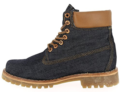 Timberland Heritage 6 in Fabric RAW DENIM, MAN, Size: 41 EU (7.5 US / 7 UK)